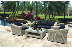 Canes Sofa Set