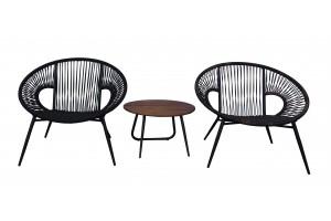 Round Bistro Lounge Set